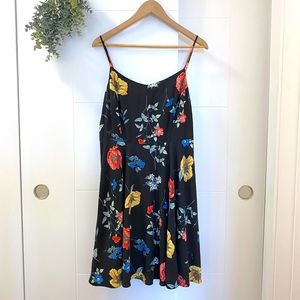 Old Navy • Fit & Flare Midi Cami Floral Sundress